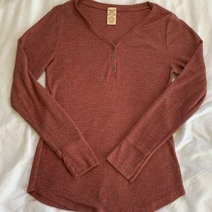 Thermal long sleeve shirt
